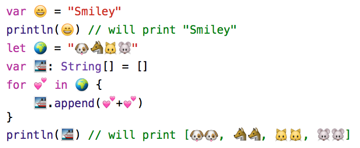 emoji  unicode support